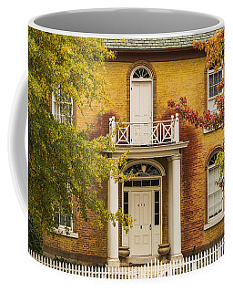 Crooked White Fence Coffee Mug