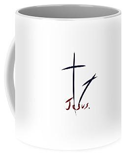 Cross And Shadow Coffee Mug