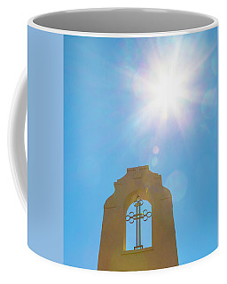 Cross And Sun Coffee Mug
