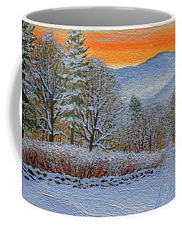 Cross Country Ski Trail Coffee Mug