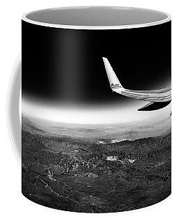 Cross Country Via Outer Space Coffee Mug