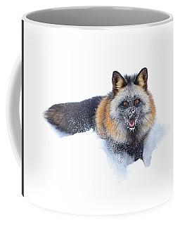 Cross Fox Winter Coffee Mug
