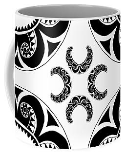 Cross Maori Style Coffee Mug
