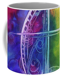 Cross Of  Promise Coffee Mug by Karen Kennedy Chatham