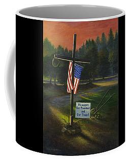 Cross Of Remembrance Coffee Mug