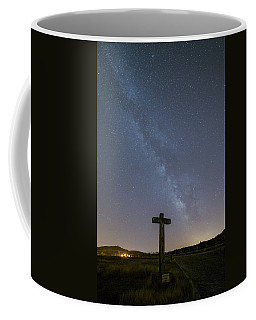 Coffee Mug featuring the photograph Cross Over To The Milky Way by Bruno Rosa