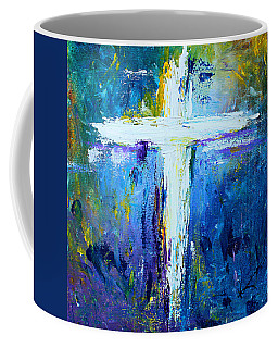 Cross - Painting #4 Coffee Mug by Kume Bryant