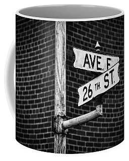 Coffee Mug featuring the photograph Cross Roads by Darren White