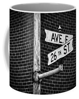 Cross Roads Coffee Mug by Darren White