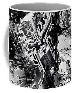 Cross Section Of Buick Lacrosse 3.6l V6 Vvt Car Engine Coffee Mug