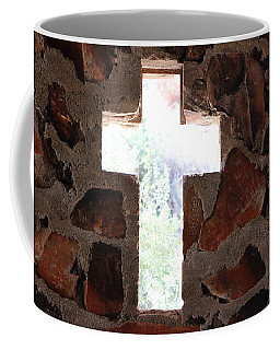 Cross Shaped Window In Chapel  Coffee Mug