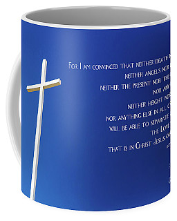 Cross With Blue Sky Coffee Mug