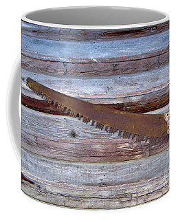 Crosscut Saw Coffee Mug