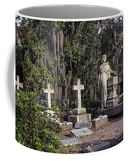 Coffee Mug featuring the photograph Crosses Three by Kim Hojnacki