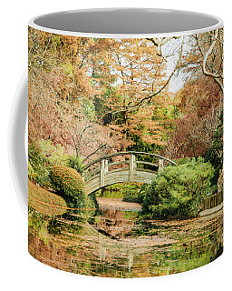 Crossing Bridge Coffee Mug by Iris Greenwell