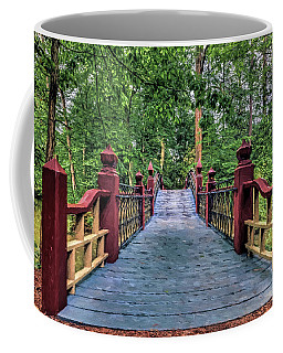 Coffee Mug featuring the photograph Crossing Crim Dell In Spring by Jerry Gammon
