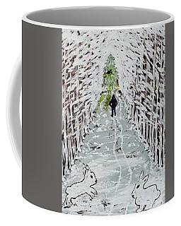 Crossing Paths Coffee Mug by Jonathon Hansen