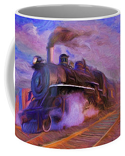 Crossing Rails Coffee Mug by Caito Junqueira