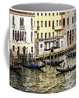 Crossing The Canal Coffee Mug
