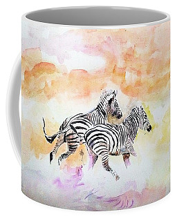Crossing The River. Coffee Mug