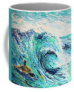 Crossing The Sandbar Coffee Mug