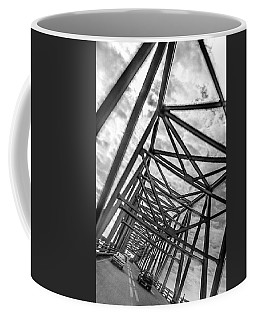 Crossing Through The Chesapeake Bay Bridge Coffee Mug