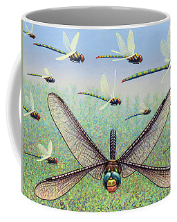 Coffee Mug featuring the painting Crossways by James W Johnson