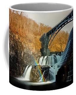 Croton Dam Rainbow Spray Coffee Mug
