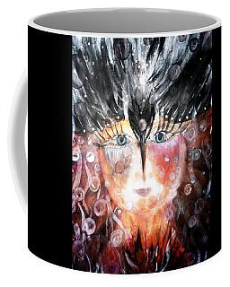 Crow Child Coffee Mug