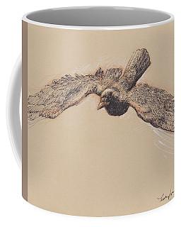 Crow In Flight Coffee Mug