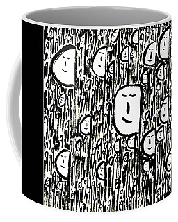 Crowd Coffee Mug