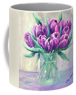 Crowd Of Tulips Coffee Mug