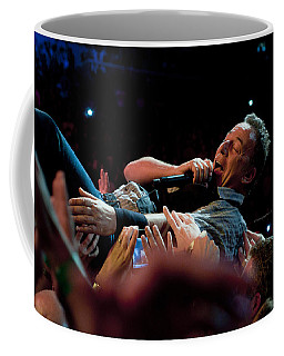 Coffee Mug featuring the photograph Crowd Surfing by Jeff Ross