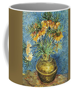 Crown Imperial Fritillaries In A Copper Vase Coffee Mug