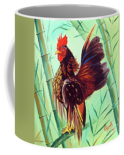 Crown Of The Serama Chicken Coffee Mug