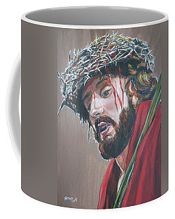 Coffee Mug featuring the painting Crown Of Thorns by Bryan Bustard