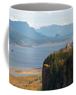 Crown Point On Columbia River Gorge Coffee Mug
