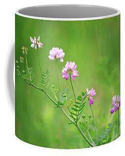 Crown Vetch Wildflower Coffee Mug