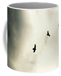 Crows On Christmas Eve 1 Coffee Mug