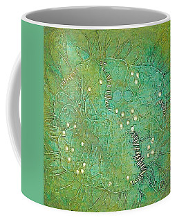 Cruciferous Flower Coffee Mug by Bernard Goodman