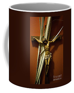 Crucifix Coffee Mug