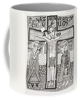Crucifixion Of Jesus Christ. After A Coffee Mug