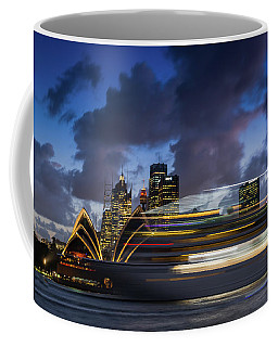 Cruise Ship Sydney Harbour Coffee Mug
