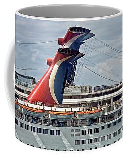 Cruise Ships In Cozumel, Mexico Coffee Mug