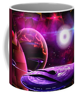 Cruising By The Super Nova Coffee Mug