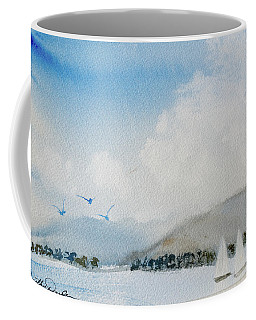Cruising In Company Along The Tasmania Coast  Coffee Mug