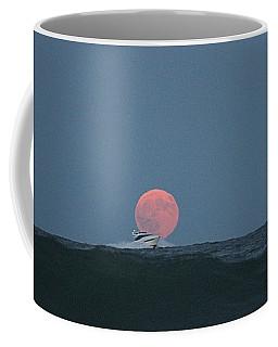 Cruising On A Wave During Harvest Moon Coffee Mug