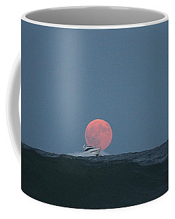 Cruising On A Wave During Harvest Moon Coffee Mug
