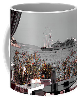 Cruising Past And Present Coffee Mug