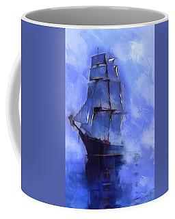 Cruising The Open Seas Coffee Mug